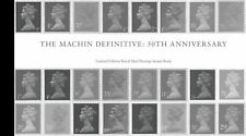 500 ONLY ISSUED  MACHIN 50th LIMITED EDITION PRESTIGE BOOKLET + Silver Medallion