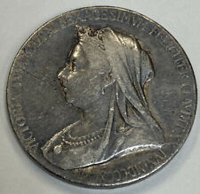 1837 1897 Royal Mint Official 60th Anniversary Of Queen Victoria Sterling Medal