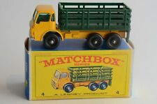 Matchbox Lesney No 4 Stake Truck - Made In England - Boxed