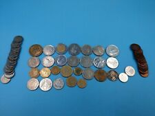 lot de pièces étrangère US UK FR et autre