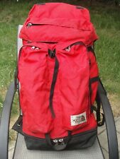 NORTH FACE BACKPACK brown tag hiking back pack internal frame mountaineering the