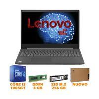 "NOTEBOOK COMPUTER PORTATILE LENOVO V15-IIL 15,6"" I3-1005G1 4GB 256GB NVME 1080P-"