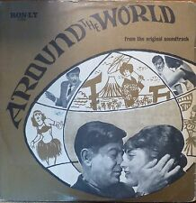 indian bollywood 1966 LP-around the world - shankar-rare israeli pressing-ron ly