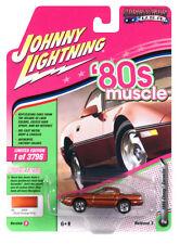 Johnny Lightning Chevrolet Corvette 1988 Dark Orange Poly JLMC014 1/64