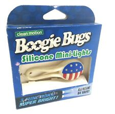 Clean Motion Boogie Bug LED Bicycle Light USA Flag Stars and Stripes