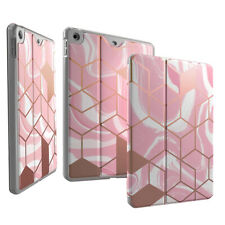 iPad 10.2 2019 Tablet Case   Full Coverage Protection Cover Liquid Marble Pink