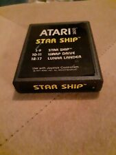 STAR SHIP by Atari 2600 Yellow Label CARTRIDGE ONLY ▪︎FREE SHIPPING ▪︎