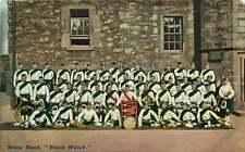 Postcard Brass Band, Black Watch, 3rd Battalion, Royal Regiment of Scotland
