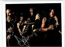 The Walking Dead Signed Photo Andrew Lincoln Danai Gurira Norman Reedus COA