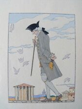 George Barbier La Double Maitresse 1928 Mornay