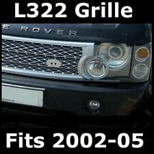 SILVER sovralimentato Griglia Upgrade Kit per Range Rover L322 2002-2005 VOGUE HSE