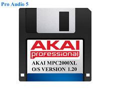 AKAI MPC2000XL sistema operativo su floppy disk versione 1.20