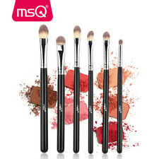 6Pcs Pro Eye Makeup Brush Set Eye Shadow Smoked Contour Cosmetics Brush Kits MSQ