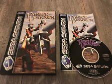 Panzer Dragoon Sega Saturn Video Game PAL UK Complete Boxed Dragon