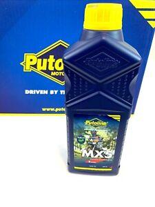 Putoline MX5 Synthetic 2 Stroke Motocross MX Enduro Bike Pre-Mix Oil - 1 Litre