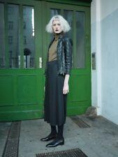 Plissee Hosenrock Culotte Hose Rock  schwarz 90er TRUE VINTAGE 90s kult fashion
