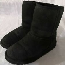 UGG australia womens sheepskin boots size UK 3