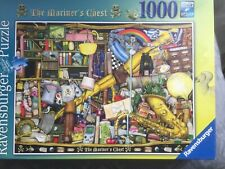 """Ravensburger puzzle """"The Mariners Chest"""" by Colin Thompson complete 1000 piece"""