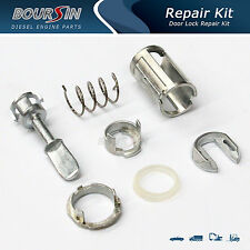 Door Lock Cylinder Barrel Repair Kit Fit VW Bora Golf 4 MK4 Driver L & R Side
