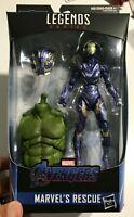 """Marvel Legends 6"""" Rescue - Avengers Endgame Pepper Potts New Sealed Smart Hulk"""