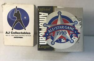 1995 major league All star game official baseball American league jl/g2