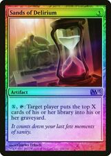 Sands of Delirium FOIL Magic 2013 / M13 HEAVILY PLD Artifact Rare CARD ABUGames