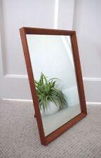 Teak Frame Freestanding Vintage/Retro Decorative Mirrors