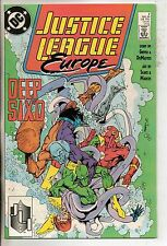DC Comics Justice League Europe #2 May 1989 F+