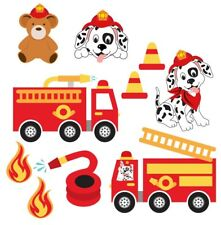 Paw Patrol Style Marshall Fire Rescue Pup Childrens Nursery Wall Stickers