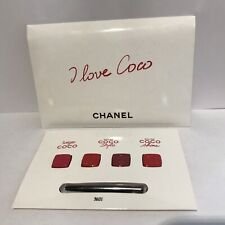 Chanel I Love Coco Rouge sample 4 colors