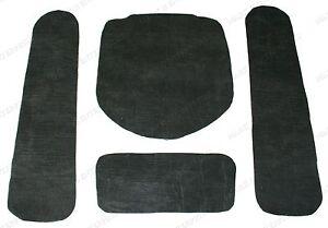 1968-1971 Lincoln Mark III Hood Insulation - Sound Deadener 4-Piece Set