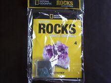 National Geographic Precious Rocks Gems & Minerals Magazine Issue 4 Amethyst