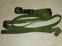 BRITISH ARMY SURPLUS ISSUE RIFLE SMALL ARMS ADJUSTABLE SLING ITW NEXUS BUCKLES