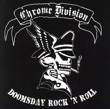 Doomsday Rock 'n Roll CHROME DIVISION CD ( FREE SHIPPING)