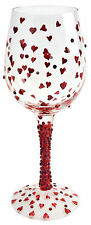 Lolita Unique Hand Painted Wine Glasses Red Hot White Red Wine Glass Design Gift