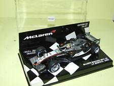McLAREN MERCEDES MP4-20 2005 MONTOYA MINICHAMPS