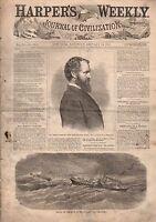 1867 Harper's Weekly January 26-Kane Masonic Lodge;Sidesaddle;Coal mine disaster