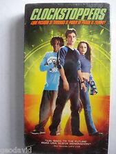 Clockstoppers Sibtitulada En Expanol Rare VHS New Sealed 2002