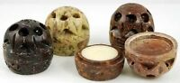 Auric Blends Temple Essence Perfume Solid Soapstone Jar 1/5oz PICK/CHOOSE SCENT