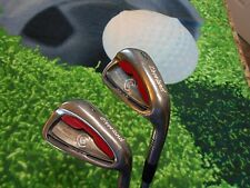 Cleveland CG Red 9 iron & PW Pitching Wedge Dynamic Gold Sensicore Steel Stiff
