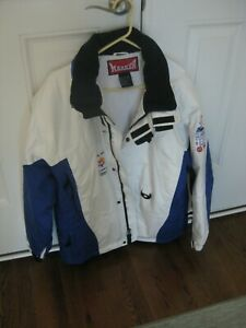 "OFFICIAL 2002 SALT LAKE OLYMPIC STAFF WINTER ""MARKER"" JACKET--SIZE WOMENS MEDIUM"