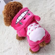 Cute Pet Dog Pink Hoodie for Small Dog Warm Cotton for Four Footed Companions