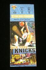 1999 NBA Finals Ticket Stub Spurs @ Knicks - Spurs Win!