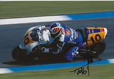SITO PONS HAND SIGNED PHOTO 12x8 Honda MotoGP 4.