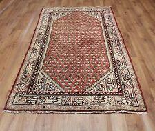 Traditional Vintage Wool 212 x 122cm Oriental Rug Handmade Carpet Rugs