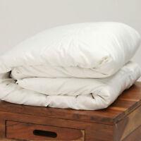 Premium Luxury White Hungarian Goose Down Duvet Quilt Silk Cover All Sizes Togs