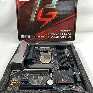 ASRock B365M Phantom Gaming 4 DDR4 MicroATX Motherboard - DAMAGED RRP £83 A51