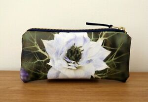 Glasses Case Faux Leather  Pouch Handmade Flat Travel Vegan Women Sunglasses