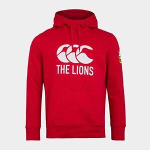 CANTERBURY LIONS MENS HOODIE - RED SA tour 2021