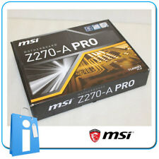 Placa base ATX MSI Z270-A PRO Socket 1151 con DEFECTO en LAN